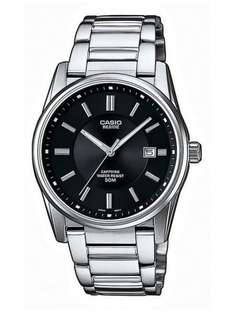 Klassische Casio Uhr mit Saphirglas! Collection Analog Quarz BEM-111D-1AVEF