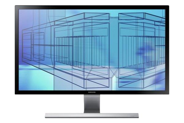[Amazon-Blitzangebot] Samsung U28D590D 28 Zoll 4K LCD-Monitor (HDMI, 1ms Reaktionszeit, 3840x2160), schwarz/silber
