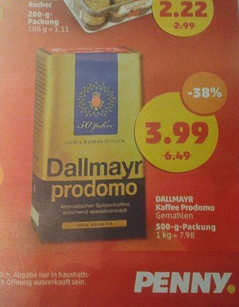 (lokal !?) Dallmayr Kaffee : Prodomo [bei Penny] & Classic [bei Netto Schwarz/Hund] für 3,99€