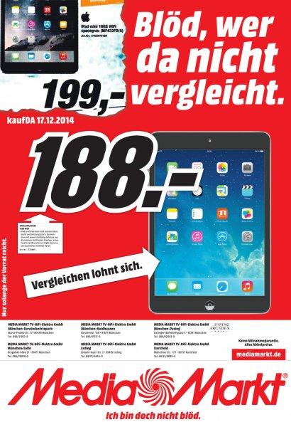 iPad mini 16gb WiFi für 188 Euro [München]