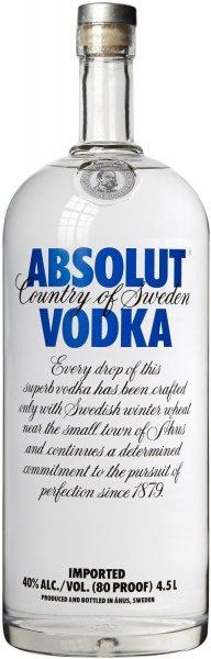 Absolut Vodka Großflasche (1 x 4.5 l)