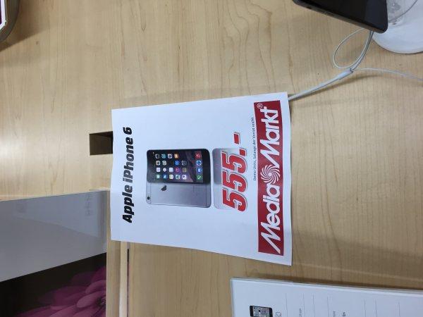 iPhone 6, 16 Gb Lokal, MediaMarkt Weiterstadt