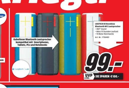 [Lokal MediaMarkt Porta Westfalica] UE Boom für 99 € !!