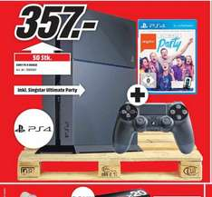 Playstation 4 + SingStar: Ultimate Party für 357€ LOKAL @ Mediamarkt Aachen