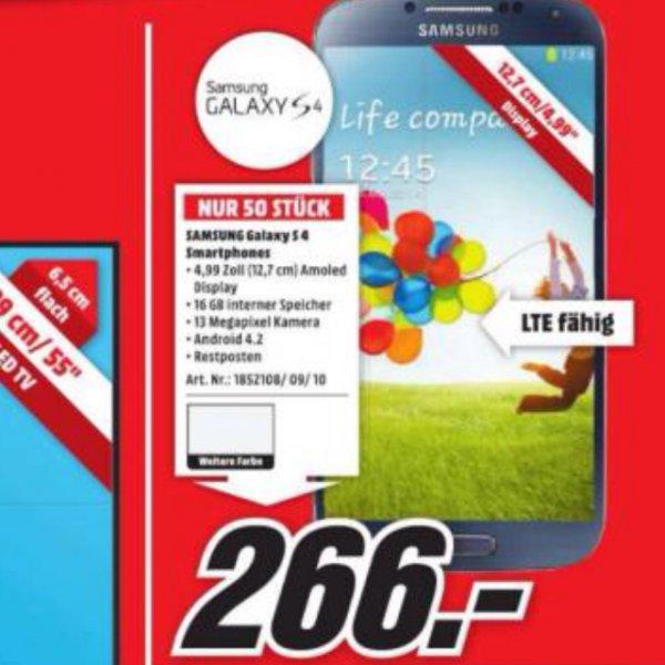 Samsung Galaxy S4 f. 266€ MM 45475 Mülheim an der Ruhr [Lokal]