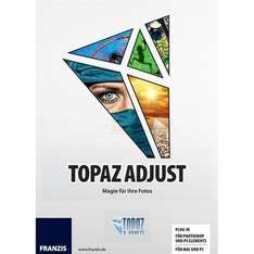 Topaz Adjust 5 Plugin (Win/Mac) - 24€ statt 43€ [für Photoshop CC/CS/Elements/Lightroom, Aperture, Paint Shop Pro, PhotoImpact]