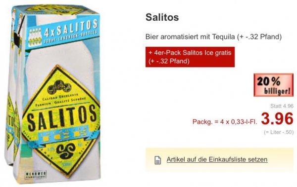 [Lokal? Kaufland]  4er-Pack Salitos Tequila Bier + 4er-Pack Salitos Ice gratis