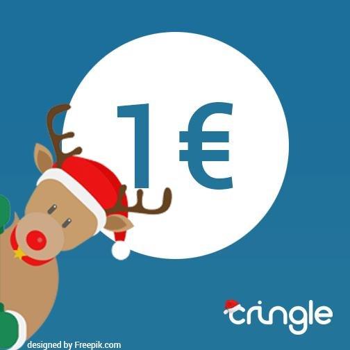 Cringle schenkt 1€