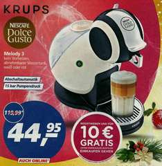KRUPS Nescafe Dolce Gusto bei REAL + auch online