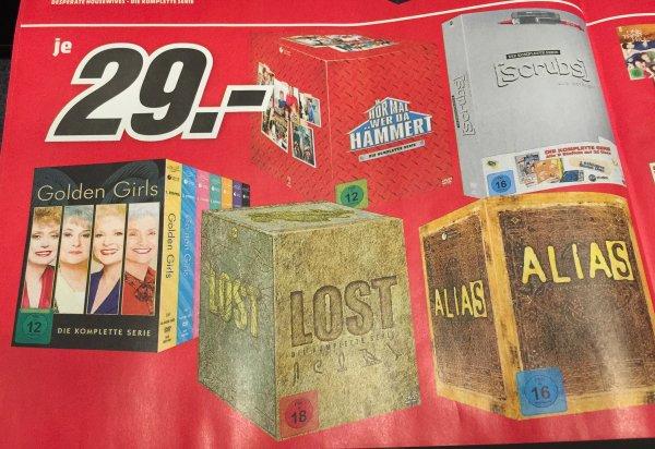 [Lokal MM Lichtenfels] Komplette Serien auf DVD für 29,- (Scrubs, Lost, Alias, etc.)