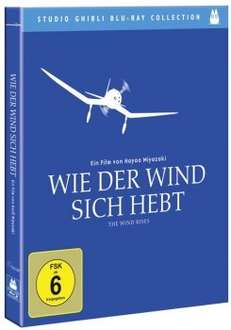 "Studio Ghibli Collection "" Wie der Wind sich hebt "" Blu-Ray @ alphamovies.de 17,49 €"
