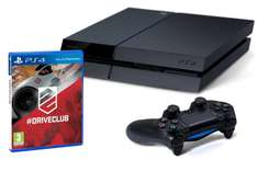 Playstation 4 + Driveclub 383€