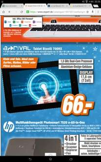 Expert 7 Zoll tablet a-rival Bioniq 700 Hx Android tablet für 66 euro