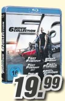 [Teilweise Lokal] Fast & Furious 1-6 (6 Movies Collection) auf Blu-ray für 19,99€ @Medimax