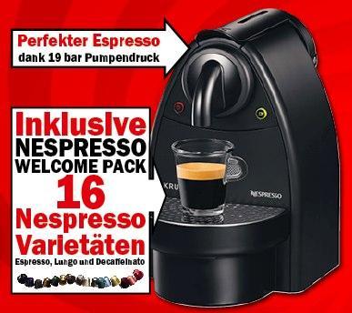 Krups Nespresso XN2003 für 49€ @Media Markt und der bald vielleicht bessere Deal