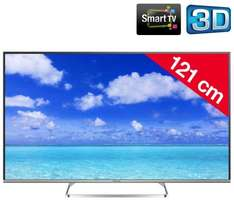 Panasonic TX-48AS640E - 1.200hz, 48 Zoll, Full HD, 3D, Wifi, Smart TV - Pixmania