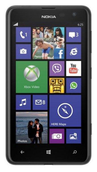 Nokia Lumia 625 schwarz inkl. Versandkosten