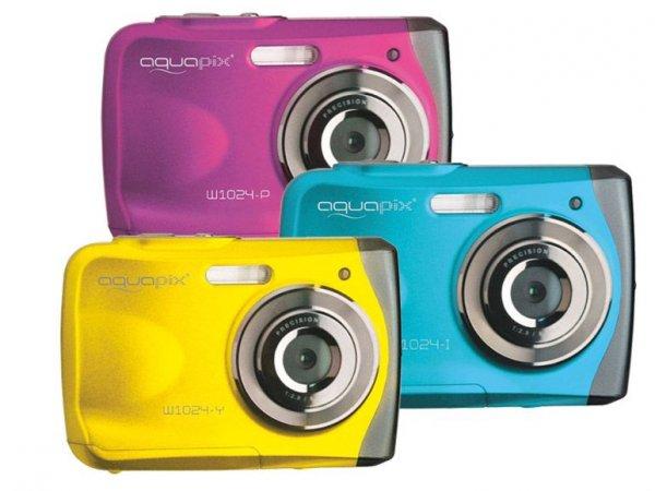 easypix Unterwasserdigitalkamera 10 MP W1024 Splash 39,99€