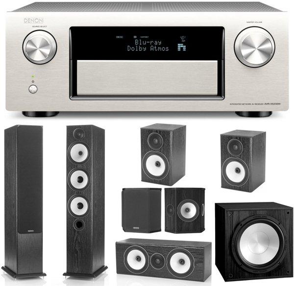 Denon AVR-X5200 [Silbern] und Monitor Audio BX 7.1 für 2555€ bei Soundpick.de