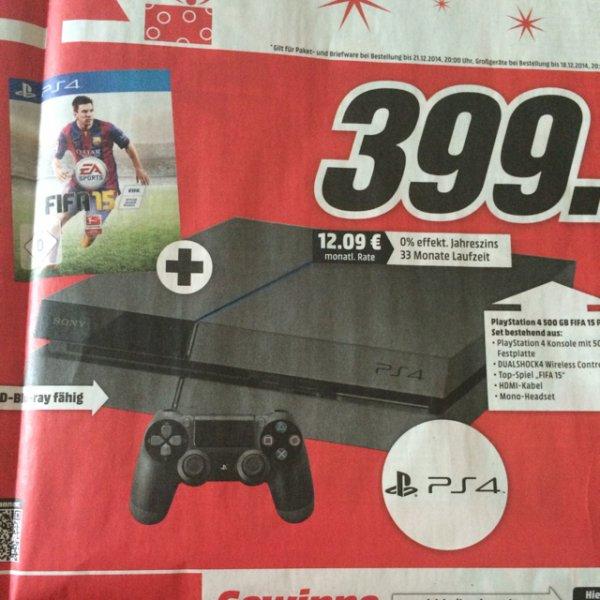PS4 + FIFA 15 [MM Bundesweit]