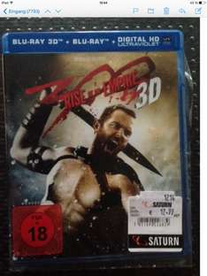 300 3D bluray   SATURN Gelsenkirchen
