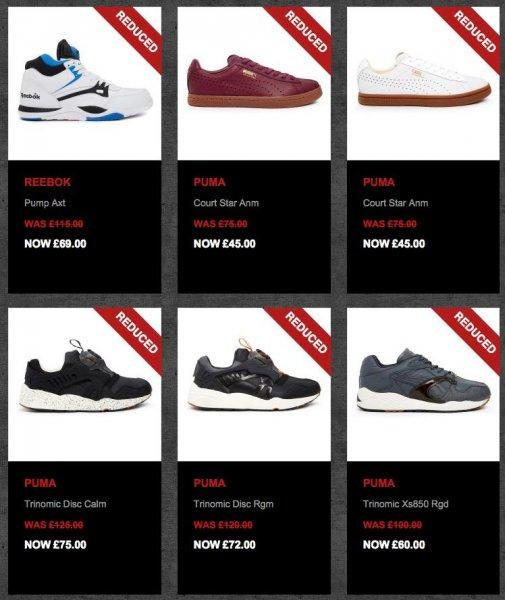 Sneaker-Sale bis 60% bei crookedtongues.com - z.B. Nike Air Force 1 Black für ~63€ inkl Versand