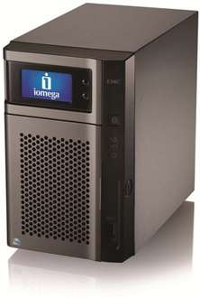 LenovoEMC NAS StorCenter px2-300d Server Class 2TB, 2x Gb LAN, 1x USB 3.0 u.v.m. für 344,25 € (- 35%)