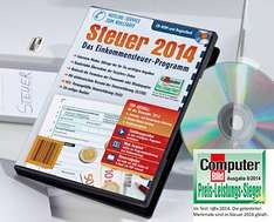 Steuer 2014 - CD-Rom - 4,99 € - Aldi Süd - ab 2.1.2015