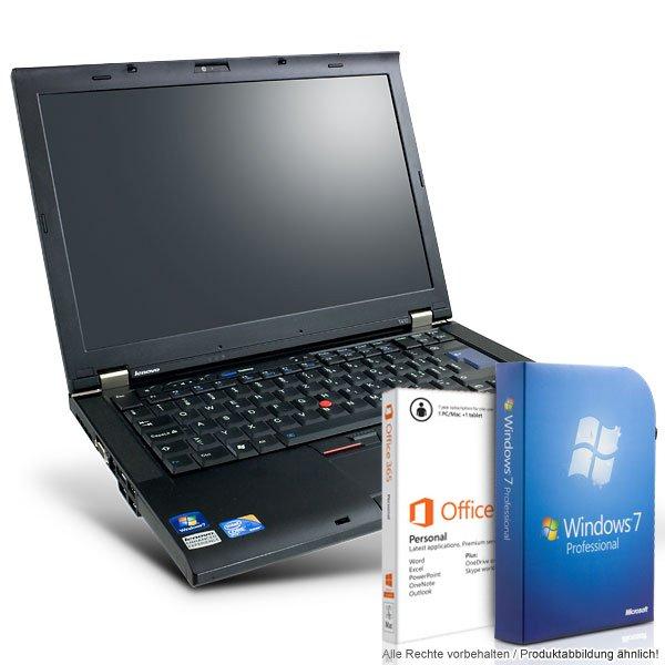 [refurbished] Lenovo ThinkPad T410 inkl. Windows 7 und Microsoft Office 365