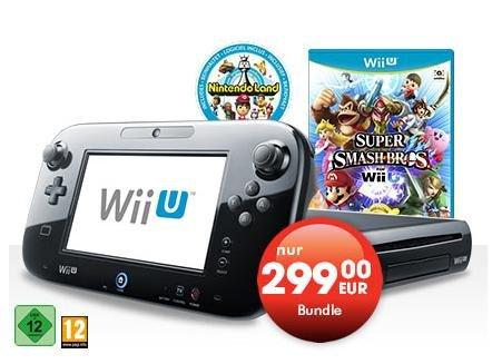 [OFFLINE?] Wii U Premium Pack Bundle mit Supersmash Broshers u. Nintendoland bei Gamestop
