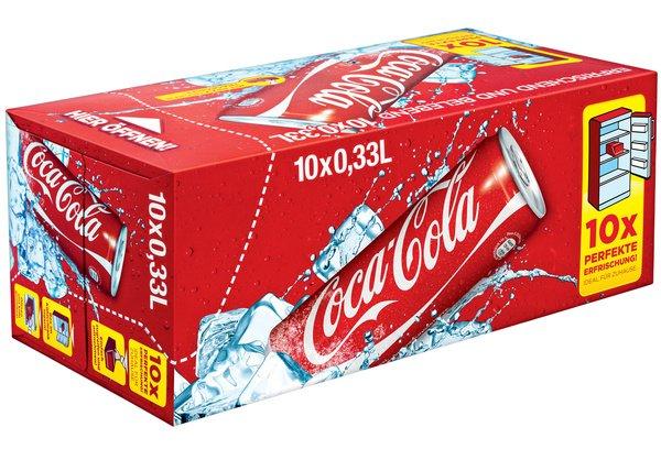 [lokal BI Stieghorst] An der Shell in Stieghorst gibts 10x0,33 Cola-Dosen für 4,49€ +2,50€ Pfand +++ MHD 12/14