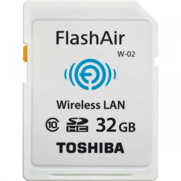 Toshiba SDCard 32 GB Flash Air Wifi Card Funktion weiß inkl. Vsk für 28 € > [meinpaket.de]