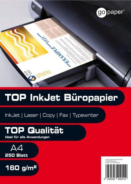 250 Blatt Kopierpapier A4 160g / m² für 5,90