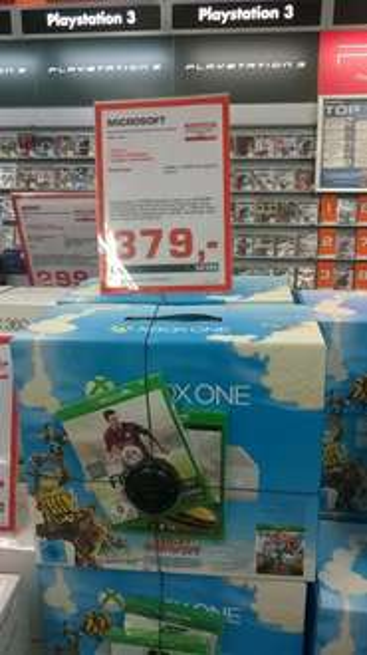 [LOKAL Saturn Fürth] Xbox One Weiß + Fifa15 + Forza Horizon 2 + Sunset Overdrive