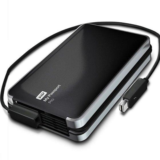 WD My Passport Pro 4 TB tragbarer RAID-Speicher mit Thunderbolt Anschluss für 279€ (Idealo: 349€) @ Amazon