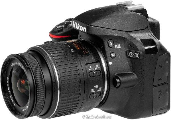 [Mediamakrt Pforzheim] Nikon D3300 Kit 18-55 mm Nikon VR II (255€-50€ Cashback)
