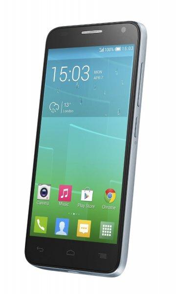 Alcatel Onetouch Idol 2 Mini S LTE 11.4cm (4.5 Zoll) qHD Display IPS, 8GB, 1.2 GHz Quad-Core, 1GB RAM, Farbe cloudy - 134,27 € Amazon.de