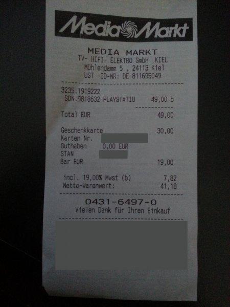 [Lokal Kiel] PlayStation TV für 49€ bei Media Markt