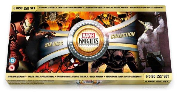 [Amazon.co.uk] Marvel Knights Choc Box - 6 Filme - OV