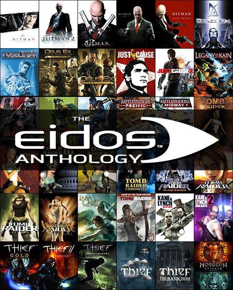 Eidos Anthology (Steam) 34 Spiele für 25,99€ bei Square Enix