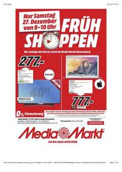 "[lokal MM Ravensburg] Macbook Air MD760D/B 13"" 128GB 4GB RAM für 777€"