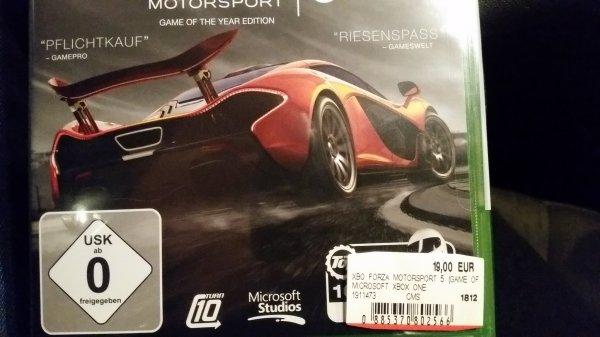 [LOKAL] MEDIAMARKT Mannheim-Sandhofen // Forza Motorsport 5 GOTY (Game Of The Year Edition)