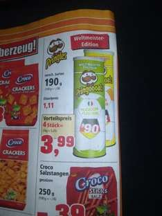 [Thomas Phillips] Pringles Weltmeister Editionen  3,99€/4Stk.