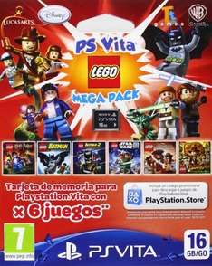 Sony PS Vita - 16 GB Card plus Lego Mega Pack @amazon.es