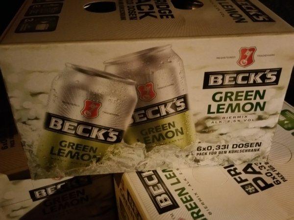 Getränke Hoffmann Becks green lemon 0,33l 6 Dosen für 0€ zzgl. 0,25€ (1,50€) pro Dose.