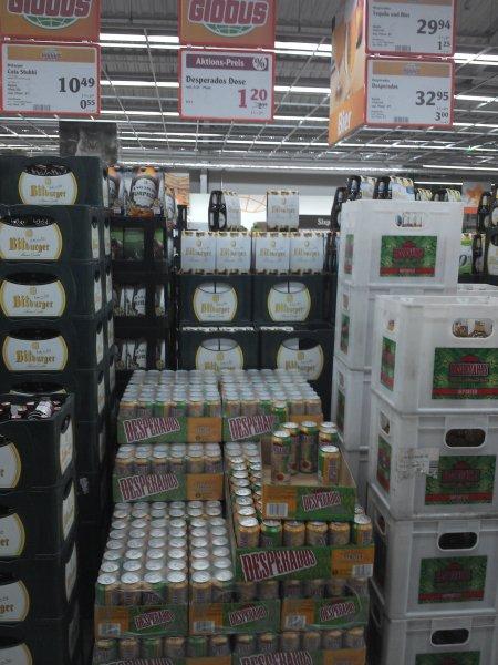 [LOKAL] Globus FMZ St Wendel DESPERADOS Bier mit Tequilageschmack 0,5l Dose