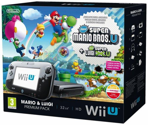 WiiI U Mario & Luigi Premium Pack €251,84 (Vergleichspreis €279)