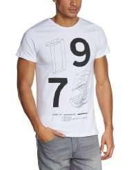 JACK & JONES Herren T-Shirt WIRE TEE (Gr. S) für 6,36€ @Amazon Prime