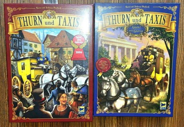 [lokal Eisenhüttenstadt] Brettspiel Thurn und Taxis inkl. Erweiterung Glanz und Gloria nur 15€ @real