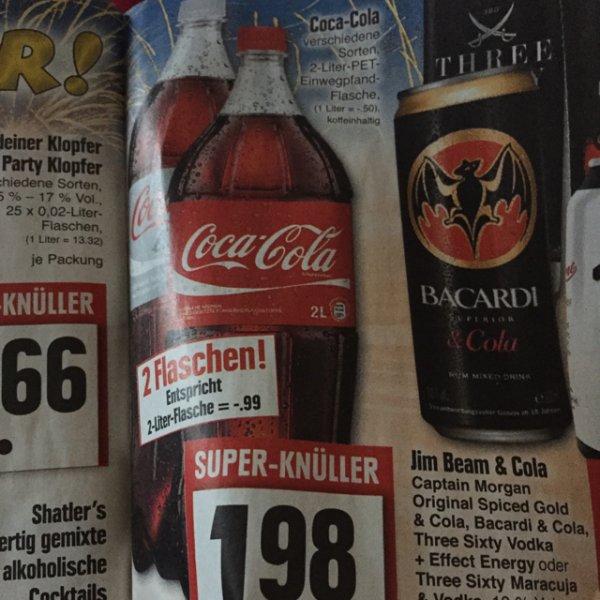 (Lokal) Edeka 2 x 2Liter Cola.Ravioli, Veltins